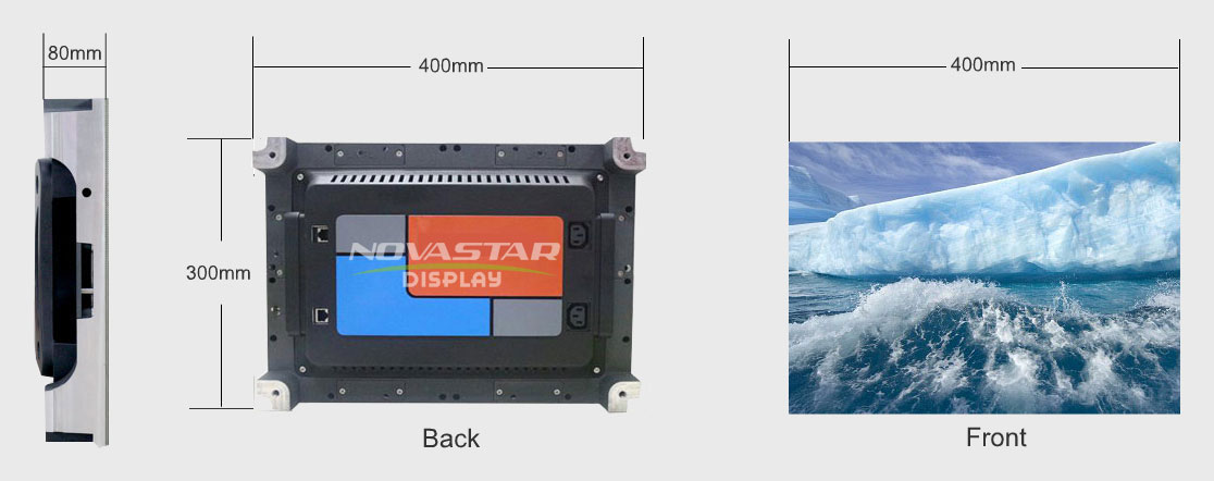 400mx300mm Small Pixel LED Display