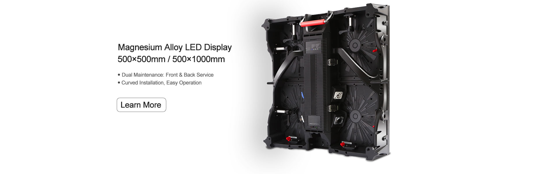 Magnesium Alloy led display