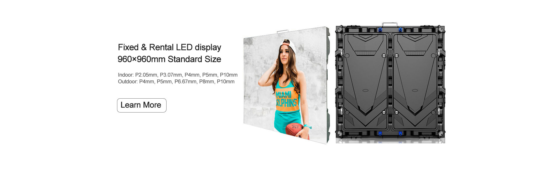 Standard Size 960mmx960mm LED display